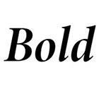 Bold image