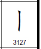 U+3127, Vertical Bar Form