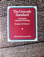 The Unicode Standard, Version 1.0, Volume 1