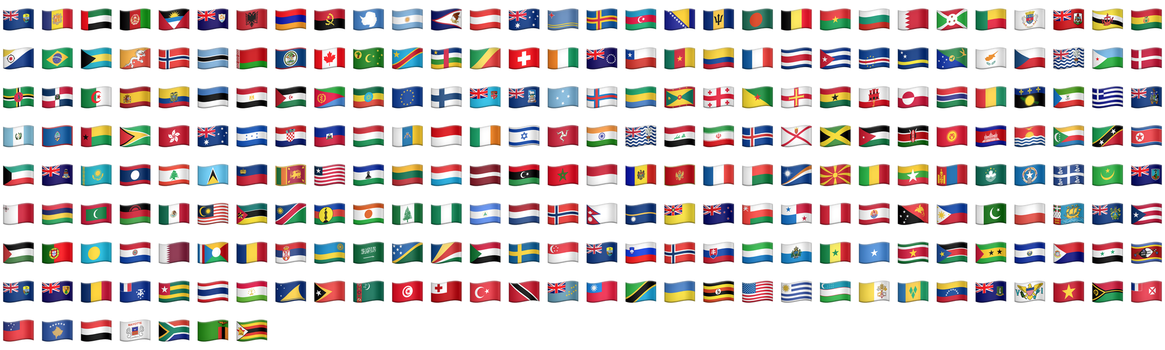 Utr 51 unicode emoji some of these flags use the same glyphs for more about flags nvjuhfo Images