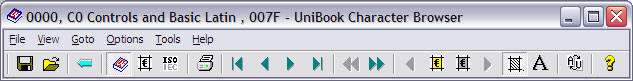 Unibook Toolbar